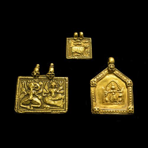 Gold talisman