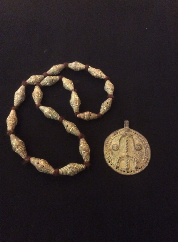 Necklace and pendant from Mali