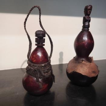 Wooden bottles