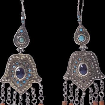 Earings from Uzbekistan