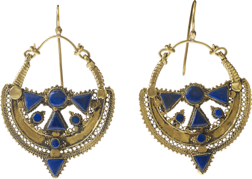 Earings From Afghanistan