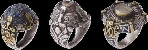 Rings from Uzbekistan